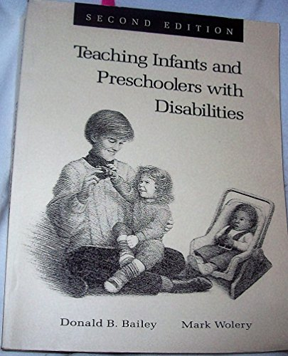 9780130266842: Teaching Infant and Preschoolers With Disabilities, (1 COLOR REPRINT) (2nd Edition)