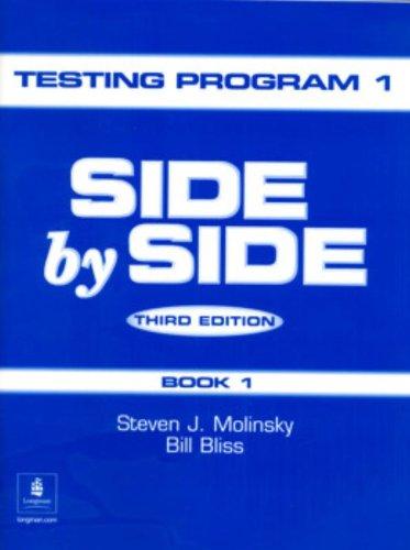 9780130267528: Side by Side Test Program, Level 1