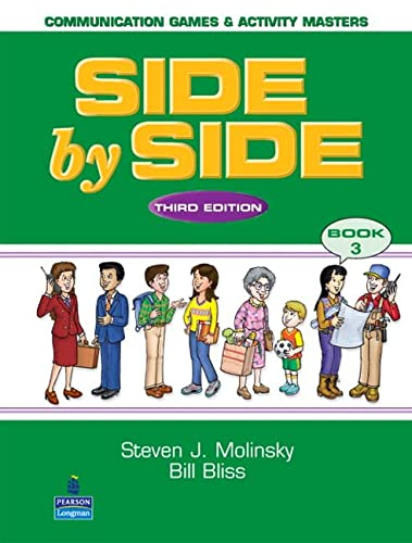 9780130268860: Side by Side Level 3: Communication Games & Activity Masters 3rd Ed