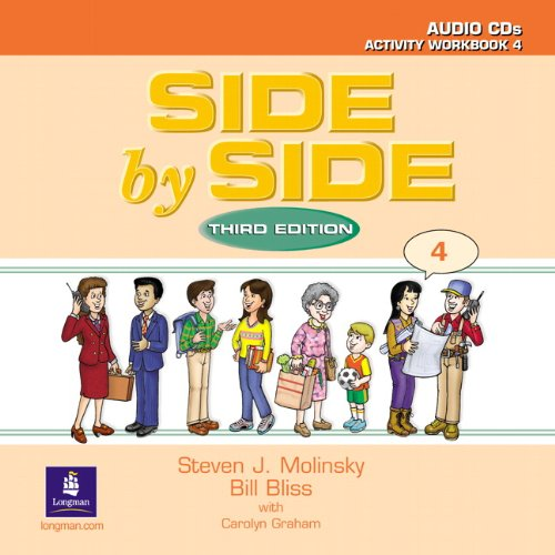 9780130268938: Side by Side 4 Activity Workbook 4 Audio CDs (2)