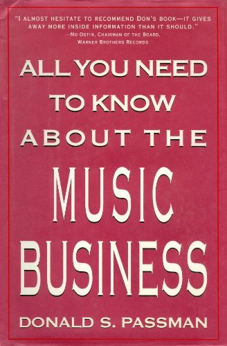 9780130269157: All You Need to Know about the Music Business