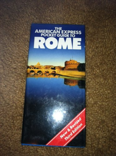 The American Express pocket guide to Rome: Pereira, Anthony
