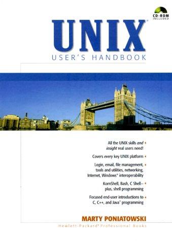 9780130270191: UNIX User's Handbook