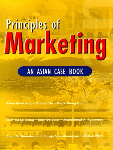 9780130270924: Principles of Marketing: An Asian Case Book