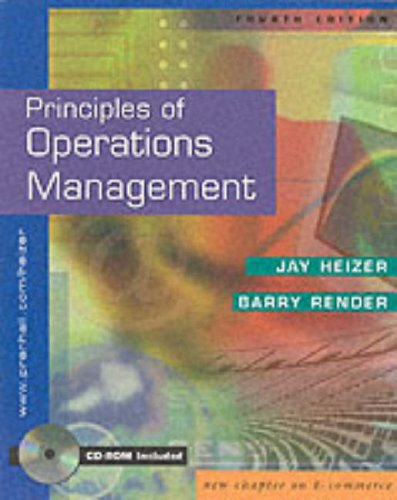 9780130271471: Principles of Operations Management and Interactive CD Package
