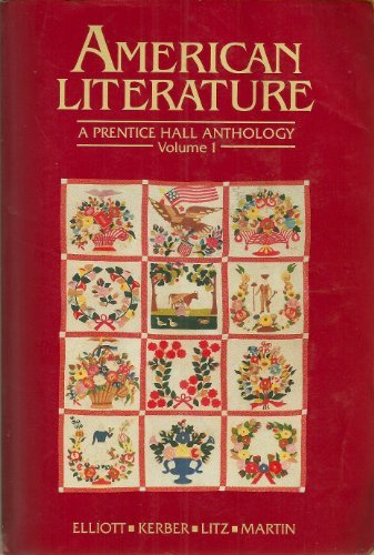 9780130272447: American Literature: A Prentice Hall Anthology
