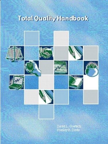 9780130272621: Total Quality Handbook