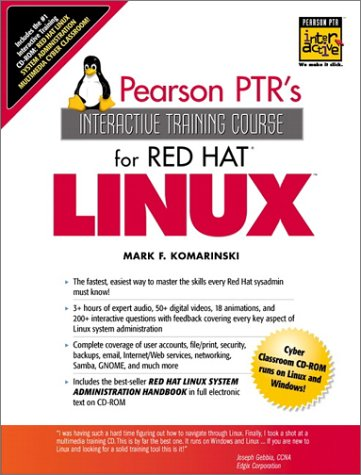 9780130272676: The Red Hat Linux Interactive Training Course (Complete Training Course Series)