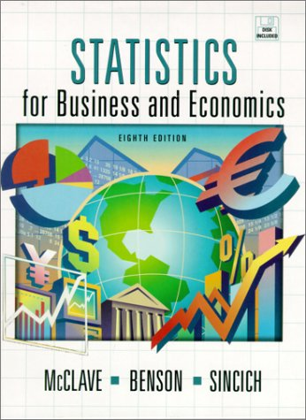 9780130272935: Statistics for Business and Economics (8th