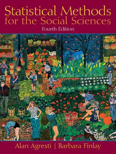 9780130272959: Statistical Methods for the Social Sciences