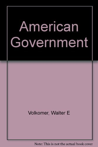9780130273000: American Government