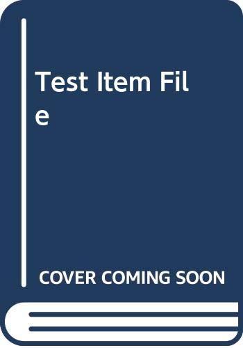 9780130273987: Test Item File
