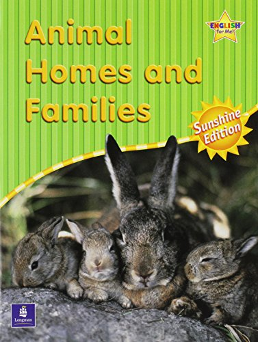 9780130275196: Animal Homes and Families, Second Edition (Scott Foresman ESL Little Books, Kindergarten Level)