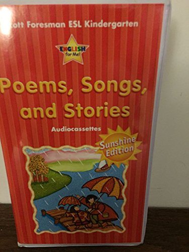 9780130275264: Poems, Songs and Stories, Big Books, Scott Foresman ESL Kindergarten Level