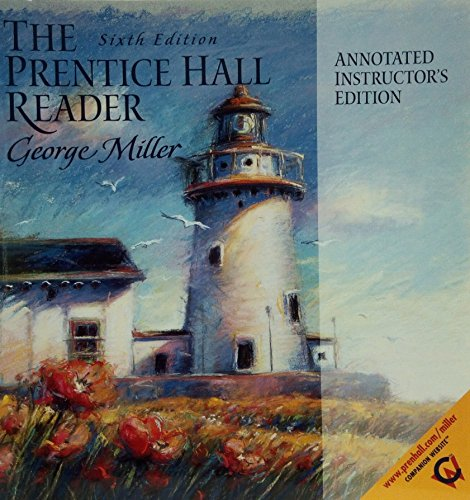 9780130276926: The Prentice Hall Reader, Annotated Instructors Edition
