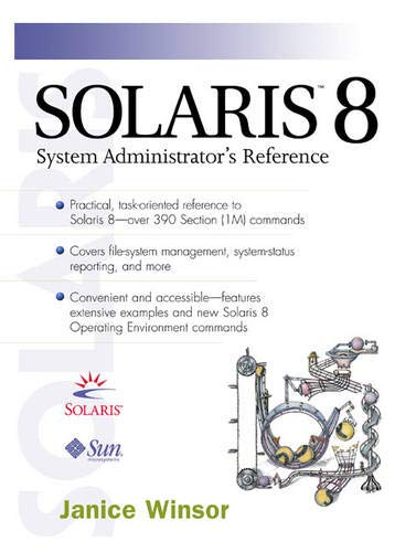 9780130277015: Solaris 8 : System Administrator's Reference