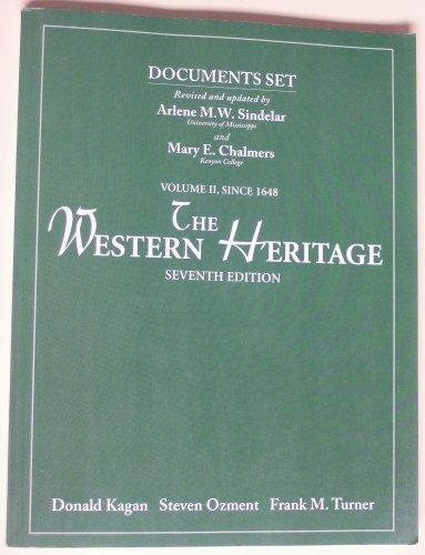 9780130277251: Western Heritage Since 1648 Vol 2 Doc Set