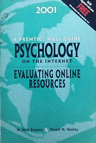 9780130277558: A Prentice Hall Guide Psychology on The Internet-Evaluating Online Resources