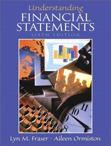 9780130277824: Understanding Financial Statements