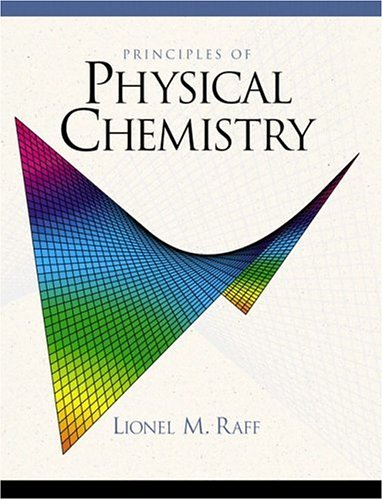 9780130278050: Principles of Physical Chemistry