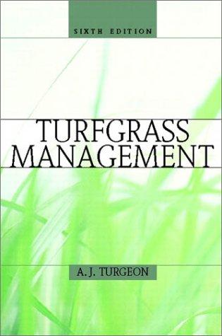 9780130278234: Turfgrass Management