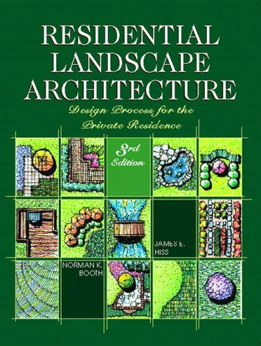 9780130278272: Residential Landscape Architecture: Design Process for the Private Residence