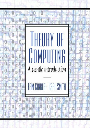 9780130279613: Theory of Computing: A Gentle Introduction