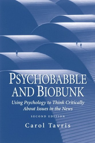 9780130279866: Psychobabble and Biobunk: Using Psychology to Think Critically About Issues in the News : Opinion Essays and Book Reviews