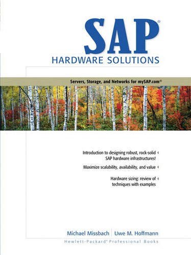 9780130280848: SAP Hardware Solutions: Servers, Storage, and Networks for mySAP.com