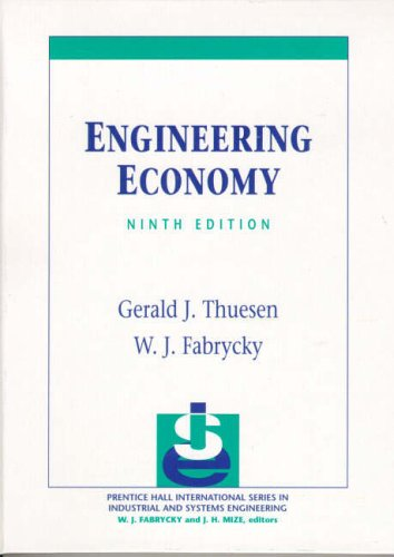 9780130281289: Engineering Economy (Prentice-Hall International Series in Industrial and Systems)
