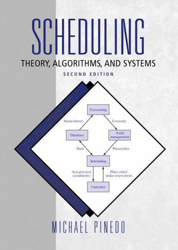 9780130281388: Scheduling: Theory, Algorithms and Systems