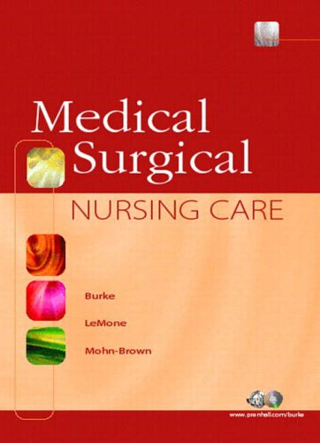 9780130281623: Medical-Surgical Nursing Care