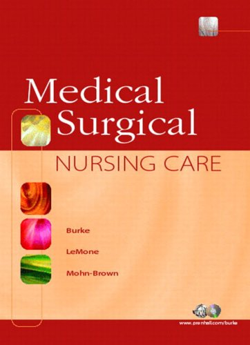 9780130281623: Medical-Surgical Nursing Care