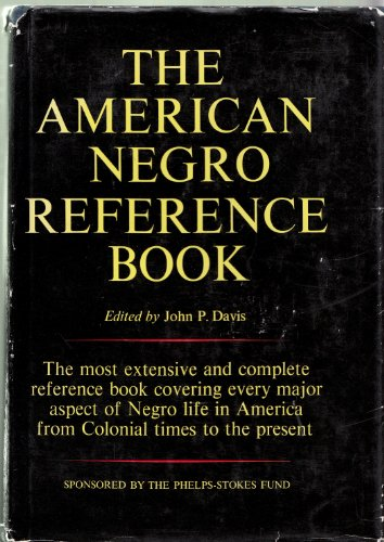 9780130281678: American Negro Reference Book