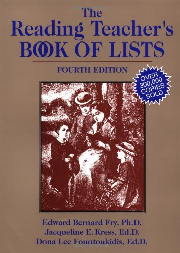 9780130281852: The Reading Teacher's Book of Lists (J-B Ed: Book of Lists)