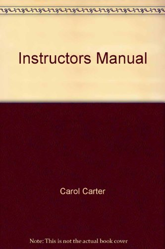 9780130282088: Instructors Manual The Career Tool Kit for High School Students, Making the Transition from School to Work