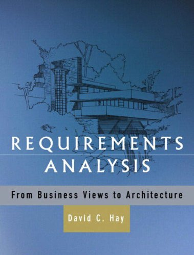 9780130282286: Requirements Analysis Architecture: from Business Views to Architecture