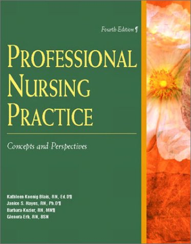 9780130282880: Kozier's Professional Nursing Practice: Concepts and Perspectives