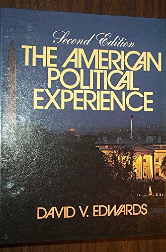 9780130283085: The American political experience: An introduction to government