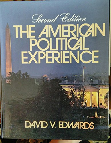 9780130283252: The American political experience: An introduction to government