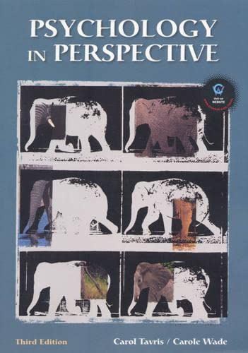 9780130283269: Psychology in Perspective (3rd Edition)