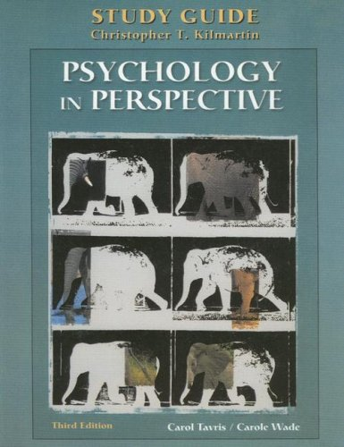 9780130283283: Study Guide to accompany Psychology in Perspective
