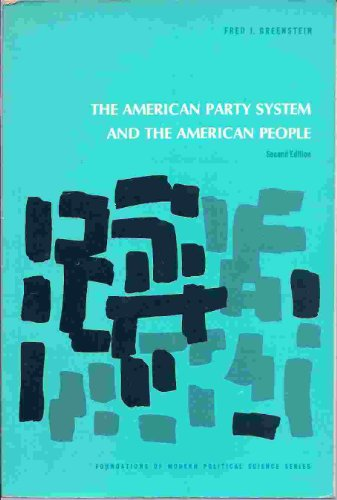 9780130284150: The American Party System and the American People