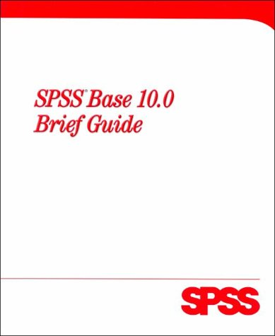 9780130284266: SPSS 10.0 for Windows Brief Edition