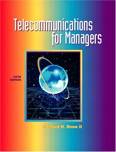 9780130284860: Telecommunications for Managers (5th Edition)