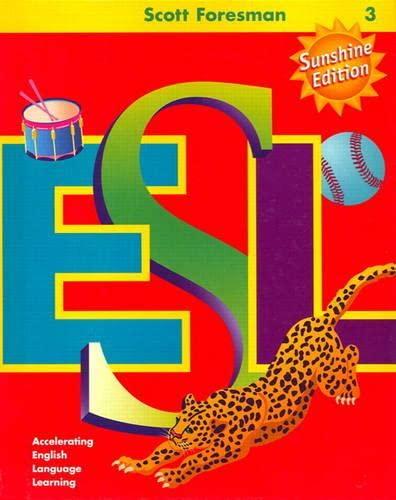 9780130285430: SCOTT FORESMAN ESL SUNSHINE EDITION LANGUAGE DEVELOPMENT ACTIVITY BOOK  G G