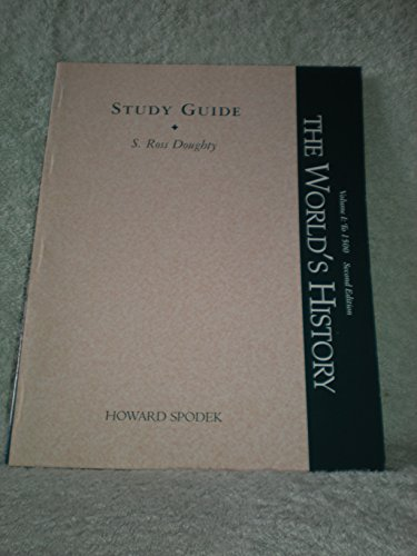 9780130285539: World's History, Volume I: To 1500, Study guide