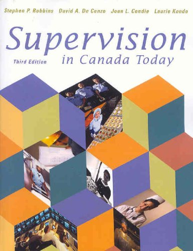 9780130286420: Supervision in Canada Today (3rd Edition)
