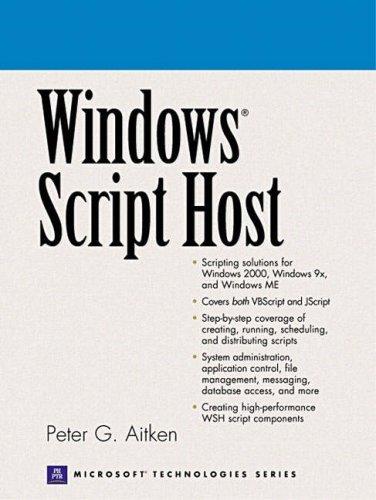 9780130287014: Windows Script Host
