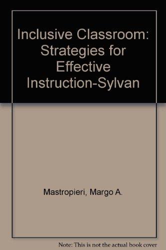 9780130287229: Inclusive Classroom: Strategies for Effective Instruction-Sylvan